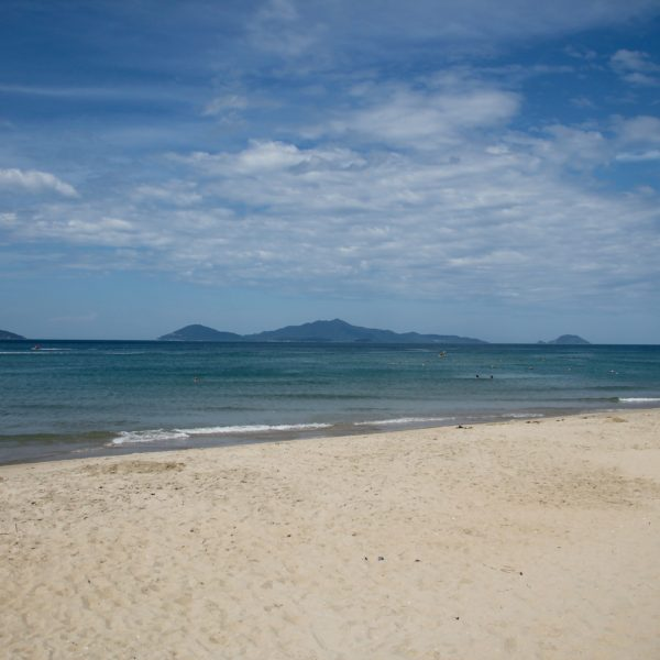 La increíble playa de Hoi An