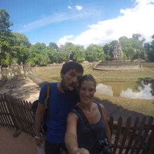 El templo Neak Pean, sin duda el más diferente