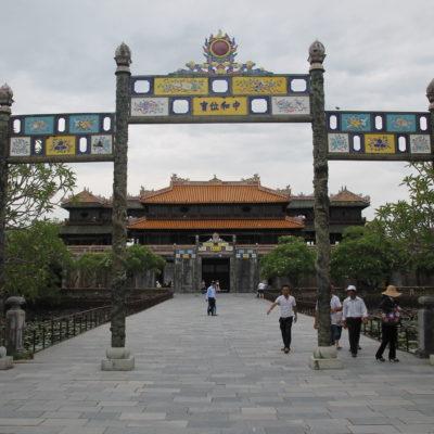 Aunque la ciudadela de Hue no está del todo completada, tiene partes totalmente acabadas