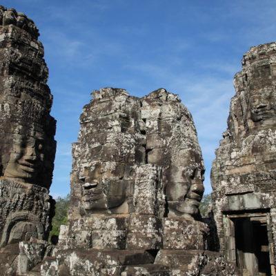 Las muchas caras del templo Bayon nos dejaron boquiabiertos