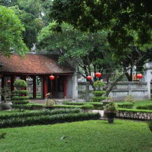 El templo de la Literatura está lleno de tranquilos jardines