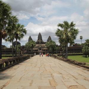 Angkor Wat nos pareció más pequeño en la realidad de lo que lo parece en las fotos