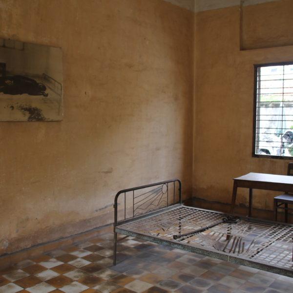 Las habitaciones se mantienen tal como las tenían para practicar torturas