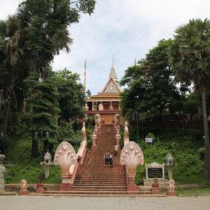 El Wat Phnom es el templo más conocido de la capital