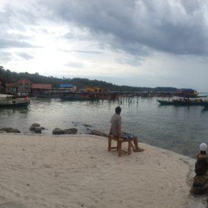 Hay zonas de Koh Rong algo abandonadas y otras cuidadas con bastante encanto