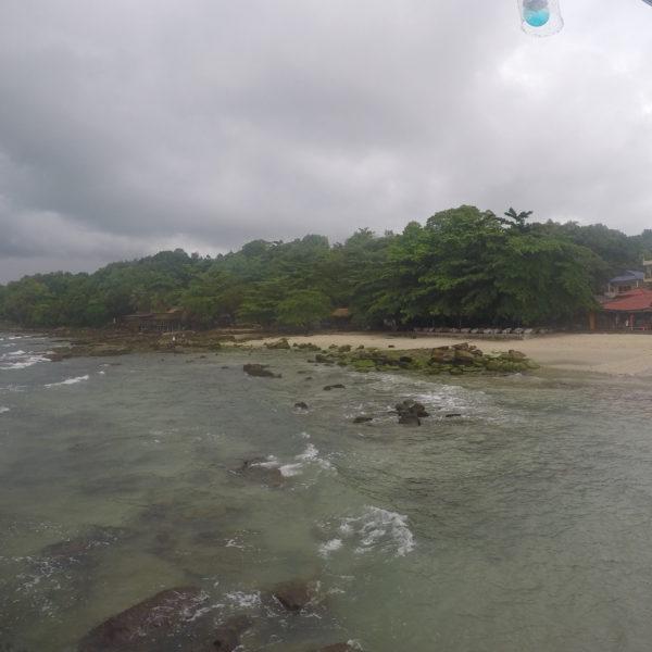La playa de Serendipity en Sihanoukville