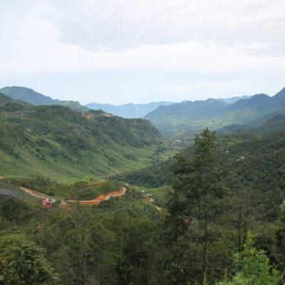 Es una pena que no se puedan obtener buenas vistas del valle donde se encuentra Sapa