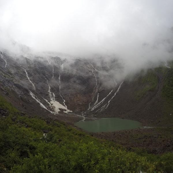 Nuestra primera visión del Glacier Lake