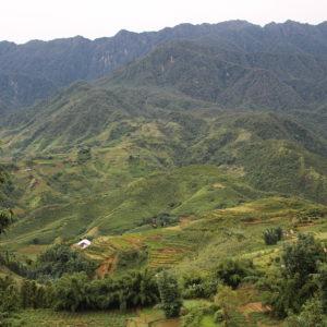 Las verdes montañas de Sapa, un enclave precioso