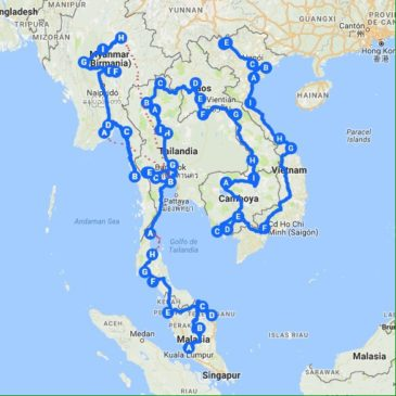Sureste asiático, datos clave
