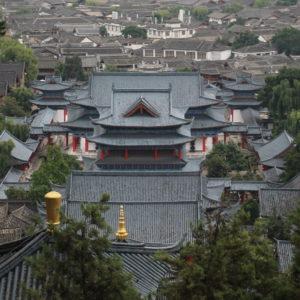 Desde el Lion Hill es posible ver los tejados del palacio, aunque no tanto el edificio en sí