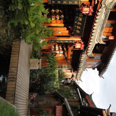 La madera y la exquisita decoración de las casas juegan también un gran papel