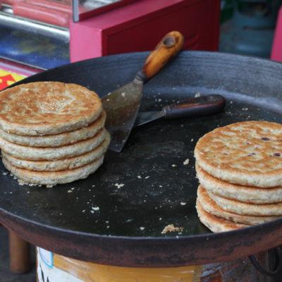 Lo llaman Tarta de Lijiang, y no sabemos qué tiene exactamente, pero estaba muy bueno