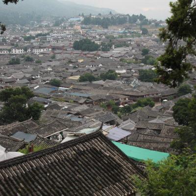 Las vistas de Lijiang