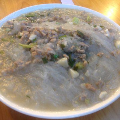 Otro tipo de noodles, extraños pero muy bueno... ¡Hay infinitos tipos de noodles!