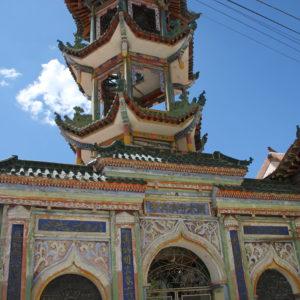 Mezquita de estilo chino