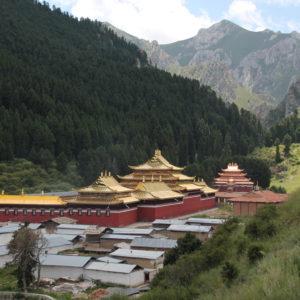 El otro templo de Langmusi, también des mismo estilo
