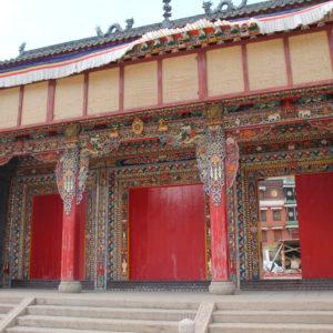 Algunos templos se encontraban en obras