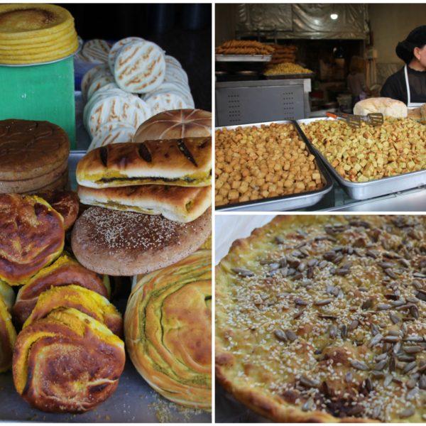Nos sorprendió gratamente la variedad de panadería que encontramos
