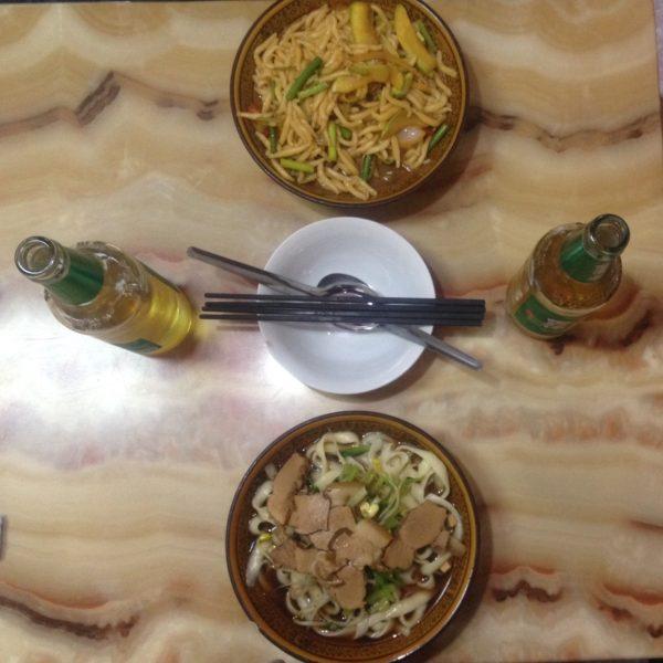 Buenísimos noodles de Lanzhou