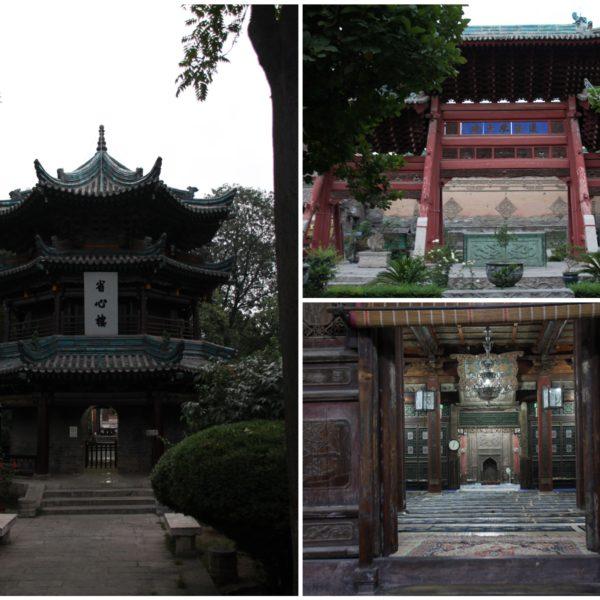 La curiosa mezquita de Xian de estilo chino