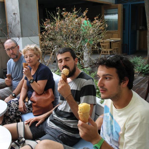 Se nota que disfrutamos con el helado, ¿verdad? ¡Sobre todo Nico!