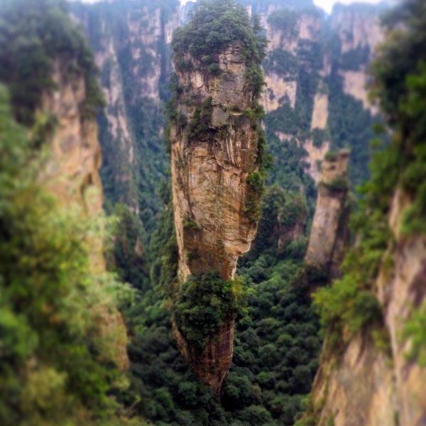 """La montaña """"Hallelujah"""", la más icónica del parque"""