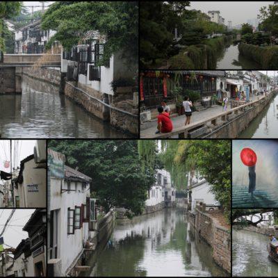 Canales y callejuelas de Suzhou