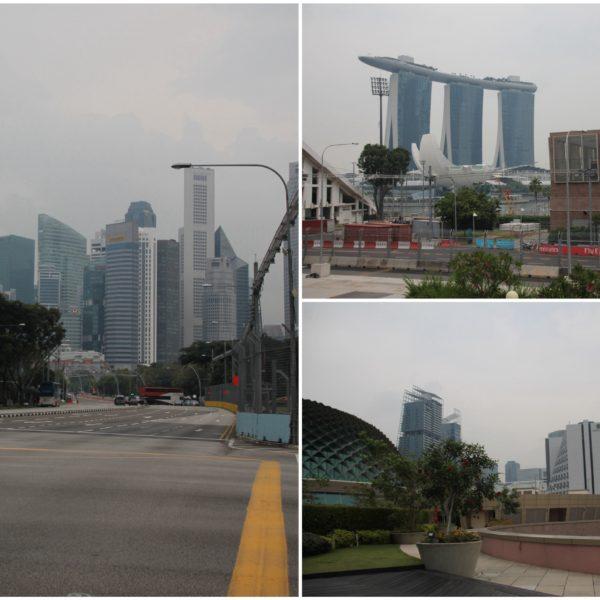Acababa de ser la Formula 1 de Singapur y la verdad que nos dio penano haber coincidido por unos días de diferencia
