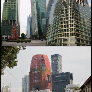 Los rascacielos de Singapur