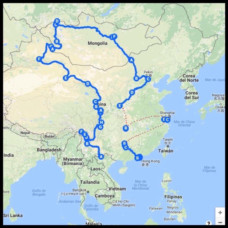 Ruta China
