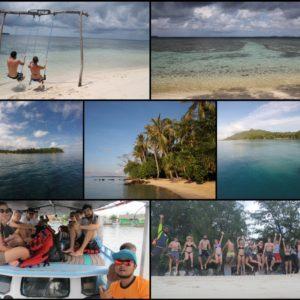 """El """"Island hopping"""" nos llevó a otras islas mientras le dábamos la vuelta a la nuestra"""