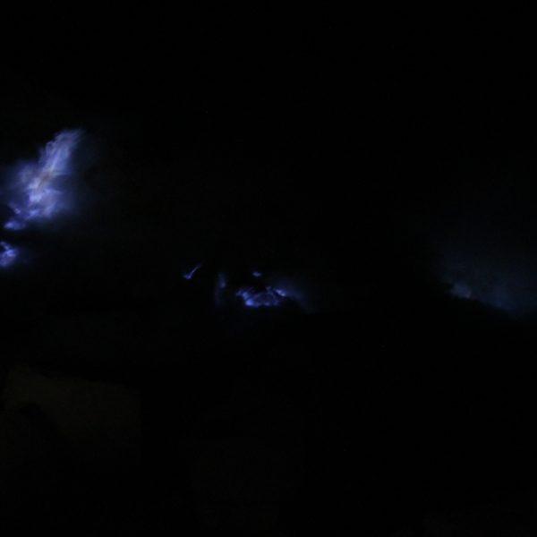 El fuego azul es muy difícil de fotografiar porque cuando se puede ver no hay luz ninguna