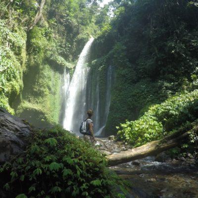El salto de agua de Tiu Kelep