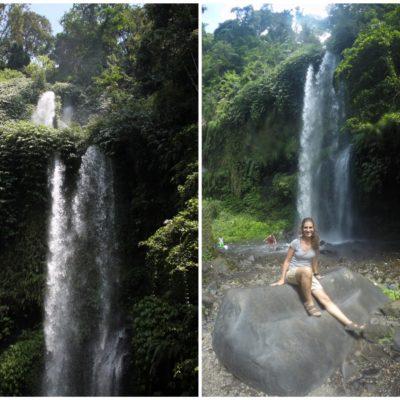 La cascada de Sendang Gile