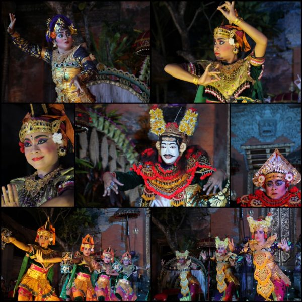 La increíble expresividad y colorido de las bailarinas fue alucinante