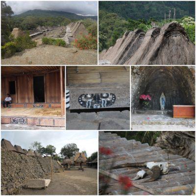 El pueblo de Bena tiene curiosas construcciones, aunque no vimos muchos locales por allí