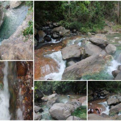 Las aguas termales de Malanage, la fusión entre agua de montaña y agua de volcán